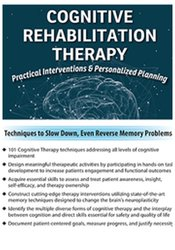 Image of Cognitive Rehabilitation Therapy: Practical Interventions & Personaliz