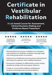Image of Vestibular Rehabilitation Workshop: Evaluation & Treatment Strategies