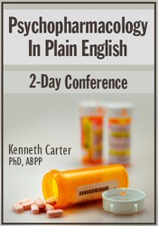 Image of Psychopharmacology in Plain English: 2-Day Conference