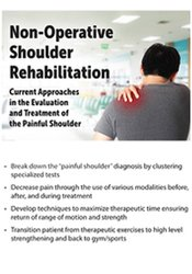 Image of Non-Operative Shoulder Rehabilitation: Current Approaches in the Evalu