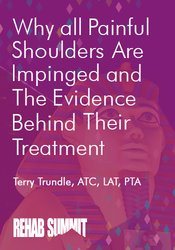 Image of Why All Painful Shoulders Are Impinged & the Evidence Behind Their Tre