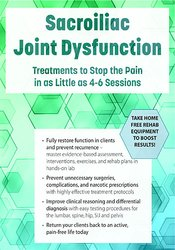 Image ofSacroiliac Joint Dysfunction: Treatments to Stop the Pain in as Little