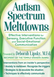 Image of Autism Spectrum Meltdowns: Effective Interventions for Sensory, Execut