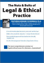 Image of The Nuts and Bolts of Legal & Ethical Practice