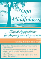 Image ofYoga & Mindfulness: Clinical Applications for Anxiety and Depression