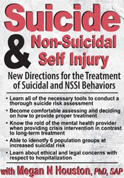 Suicide & Non-Suicidal Self Injury: New Directions for the Treatment of Suicidal and NSSI Behaviors 2