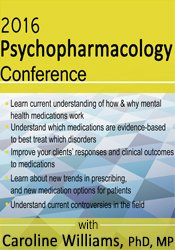 2016 Psychopharmacology Conference