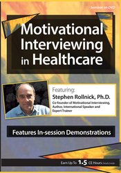 Image ofMotivational Interviewing in Healthcare with Stephen Rollnick, Ph.D.