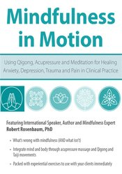 Image ofMindfulness in Motion: Using Qigong, Acupressure and Meditation for He