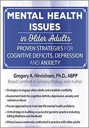 Image ofMental Health Issues in Older Adults: Proven Strategies for Cognitive