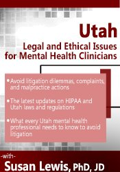 Image of Utah Legal and Ethical Issues for Mental Health Clinicians