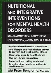 Image ofNutritional & Integrative Interventions for Mental Health Disorders: N