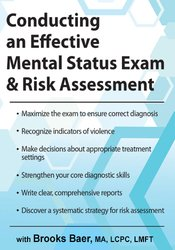 Image ofConducting an Effective Mental Status Exam & Risk Assessment