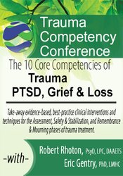 Image of The 10 Core Competencies of Trauma, PTSD, Grief & Loss