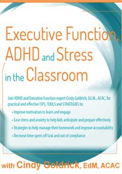 Image of Executive Function, ADHD and Stress in the Classroom