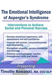 Image of The Emotional Intelligence of Asperger's Syndrome: Interventions to Ac