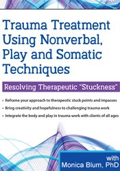 Image of Trauma Treatment Using Nonverbal, Play and Somatic Techniques: Resolvi
