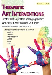 Image of Therapeutic Art Interventions: Creative Techniques for Challenging Chi