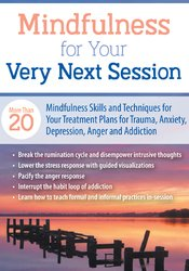 Image of Mindfulness For Your Very Next Session: More Than 20 Mindfulness Skill
