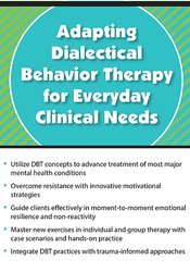 Image ofAdapting Dialectical Behavior Therapy for Everyday Clinical Needs