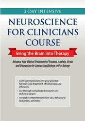 Image of Intensive Neuroscience Certificate Course: Bring the Brain into Therap