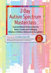 Image of Autism Spectrum Masterclass: Social and Behavioral Interventions to Re