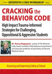 Image of Intensive Workshop: Cracking the Behavior Code: High Impact Trauma-Inf