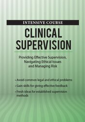 Image of Intensive Course: Clinical Supervision: Confidently Manage Risk, Ethic