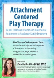 Image of Attachment Centered Play Therapy: Repair Relational Trauma and Build S