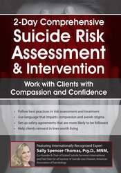 Image of Comprehensive Suicide Risk Assessment & Intervention: Work with Client