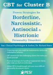 Image of CBT for Cluster B: Proven Strategies for Borderline, Narcissistic, Ant