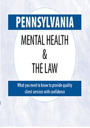 Image of Pennsylvania Mental Health & The Law - 2020