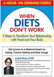 Image of When Diets Don't Work: 3 Steps to Transform Your Relationship with Foo