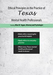Image of Ethical Principles in the Practice of Texas Mental Health Professional