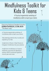 Image ofMindfulness Toolkit for Kids & Teens: Skills to Teach Your Clients