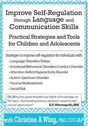 Image of Improve Self-Regulation Through Language & Communication Skills: Pract