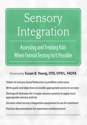 Image of Sensory Integration: Assessing and Treating Kids When Formal Testing I