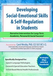 Image of Developing Social-Emotional Skills & Self-Regulation in Students: Narr