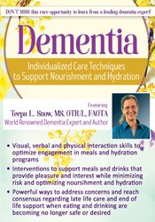 Image of Dementia: Individualized Care Techniques to Support Nourishment and Hy