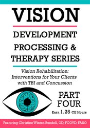 Image ofVision Rehabilitation: Interventions for Your Clients with TBI and Con