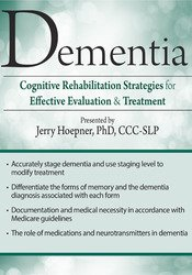 Image of Dementia: Cognitive Rehabilitation Strategies for Effective Evaluation