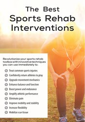 Image of The Best Sports Rehab Interventions *Pre-Order*