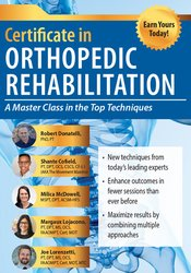 Image of 2-Day Certificate in Orthopedic Rehabilitation: A Masterclass in the T