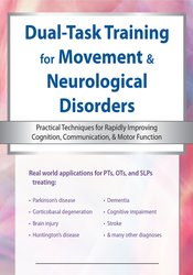 Image of Dual Task Training for Neurological Disorders: Practical Techniques fo