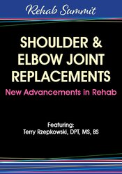 In this session, you'll learn all the new advances related to shoulder and elbow joint replacements.