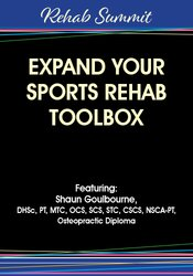 Image of Expand Your Sports Rehab Toolbox