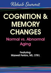 This dynamic and interactive training will increase your ability to identify and intervene with cognitive/memory decline/deficits related to the aging process, concussions, ...