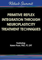 Therapists frequently see primitive reflex patterns in pediatric cases.