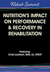 Image of Nutrition's Impact on Performance & Recovery in Rehabilitation