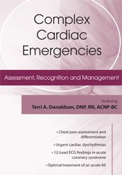 Image ofComplex Cardiac Emergencies: Assessment, Recognition and Management